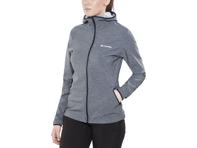 Columbia Heather Canyon Chaqueta Softshell Mujer, black